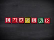 想象概念 库存图片