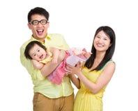 愉快亚洲的系列 免版税库存图片