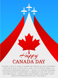 愉快加拿大的日 免版税图库摄影