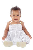 愉快可爱的婴孩 库存照片