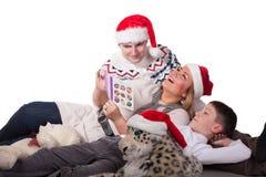 愉快圣诞节的系列 免版税图库摄影