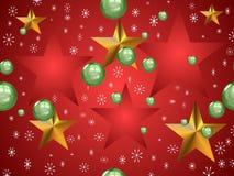 愉快圣诞节的设计 库存照片