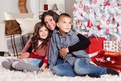 愉快圣诞节的系列 免版税库存图片