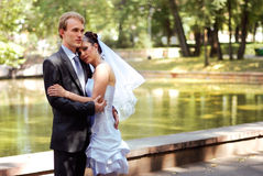 愉快夫妇的系列 免版税库存图片