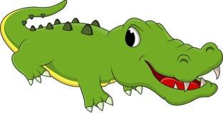 愉快的乐趣鳄鱼动画片 库存图片