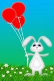 愉快的兔宝宝 库存图片
