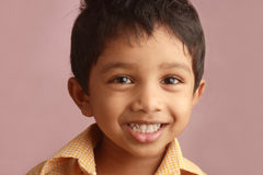 愉快的印第安孩子 库存图片