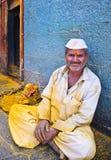 愉快的印第安村民 免版税库存图片
