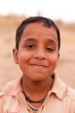 愉快的印第安男孩 免版税库存照片