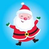 愉快的圣诞老人 免版税库存照片