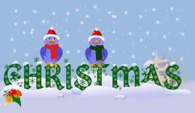 愉快的圣诞节 库存照片