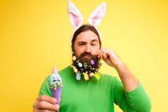 愉快的复活节和春天是以后的概念 免版税图库摄影