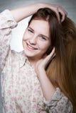 愉快的妇女年轻人 库存照片