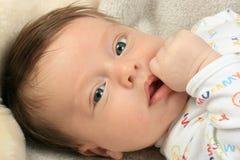 愉快的婴孩奇迹 免版税图库摄影