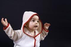 愉快的婴孩 图库摄影