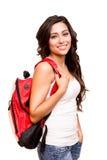 年轻愉快的学生 免版税库存图片