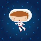 愉快的宇航员 免版税库存照片