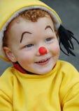 愉快的小丑一点 免版税库存照片