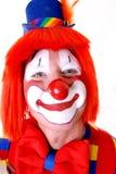 愉快的小丑 库存照片