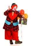 愉快的小丑 免版税图库摄影