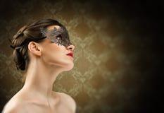 愉快的屏蔽化妆舞会新年度 免版税图库摄影