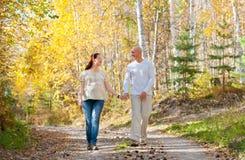 丈夫和妻子 免版税库存照片