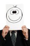 愉快的微笑 免版税库存照片