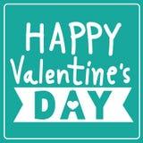 愉快的情人节卡片,华伦泰,爱,情人节 库存例证