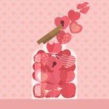 愉快的情人节象设计 免版税图库摄影