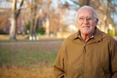 愉快的更老的人 免版税库存图片