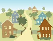 愉快的村庄