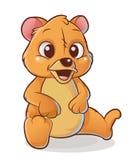 愉快的熊 免版税图库摄影
