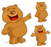 愉快的熊 库存照片