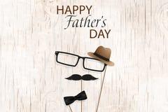愉快的父亲节模板贺卡 您是最佳的爸爸 父亲节横幅,飞行物,邀请,祝贺或 免版税图库摄影