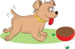 愉快的狗 向量例证