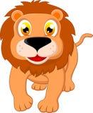 愉快的狮子身分 库存图片