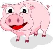 愉快的猪身分 免版税库存图片