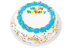 愉快的生日蛋糕 免版税图库摄影