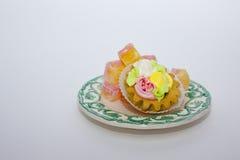 愉快的生日 蛋糕 库存图片