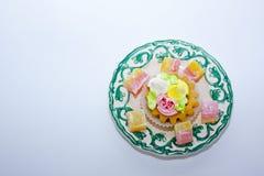 愉快的生日 蛋糕 免版税库存照片