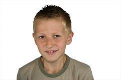 愉快的男孩 免版税图库摄影