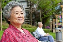 愉快的祖母 库存照片