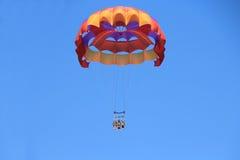 愉快的系列帆伞运动 免版税图库摄影