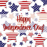 愉快的美国独立日! 皇族释放例证