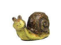 愉快的蜗牛 库存图片