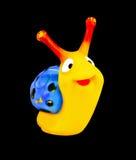愉快的蜗牛 免版税库存图片