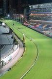 愉快的谷跑马场在香港 图库摄影