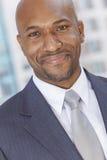愉快的非裔美国人的生意人 免版税库存照片