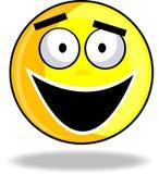 愉快的面带笑容 免版税库存图片