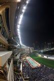 愉快的香港跑马场谷 免版税库存照片